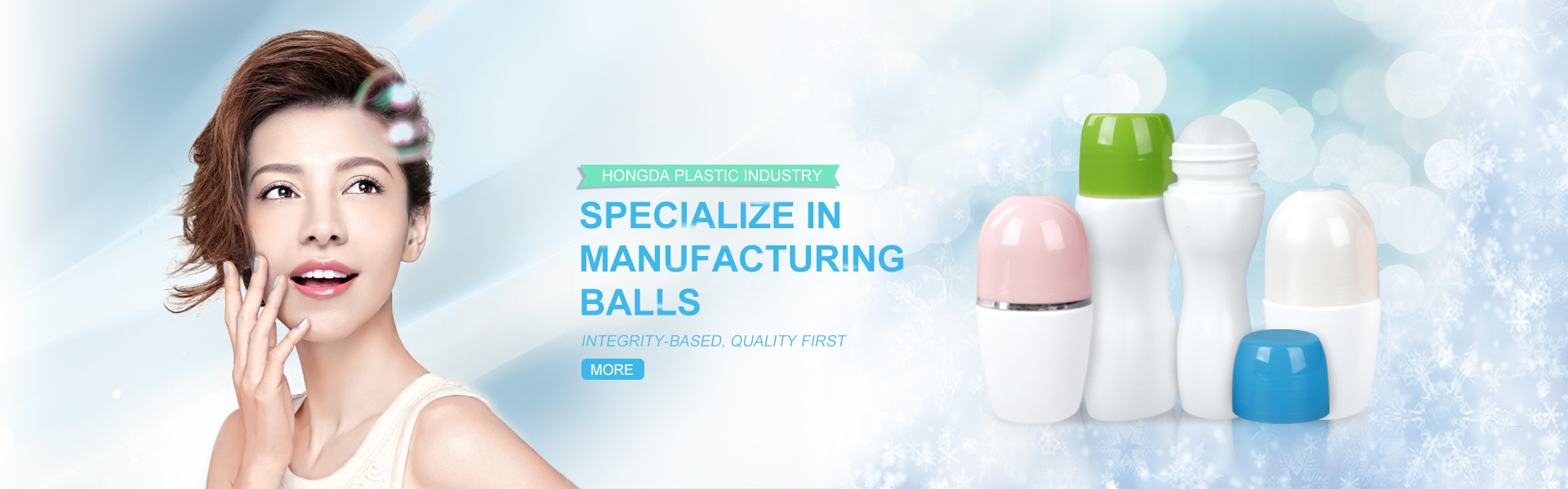 Hongda Plastics - professional in roll on ball&bottle for more than 15 years